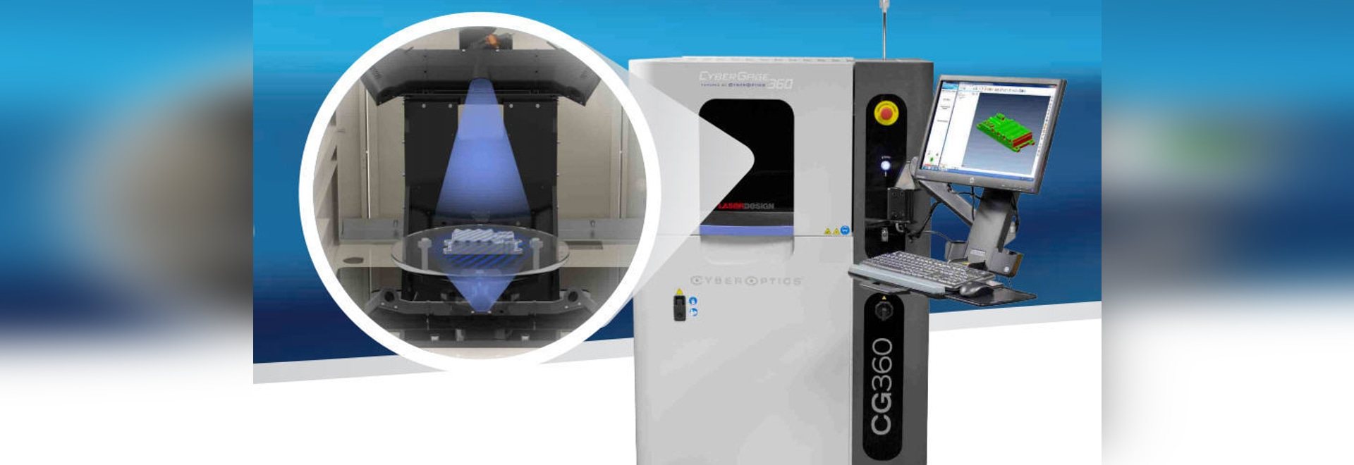 Automated 3D scanning inspection system