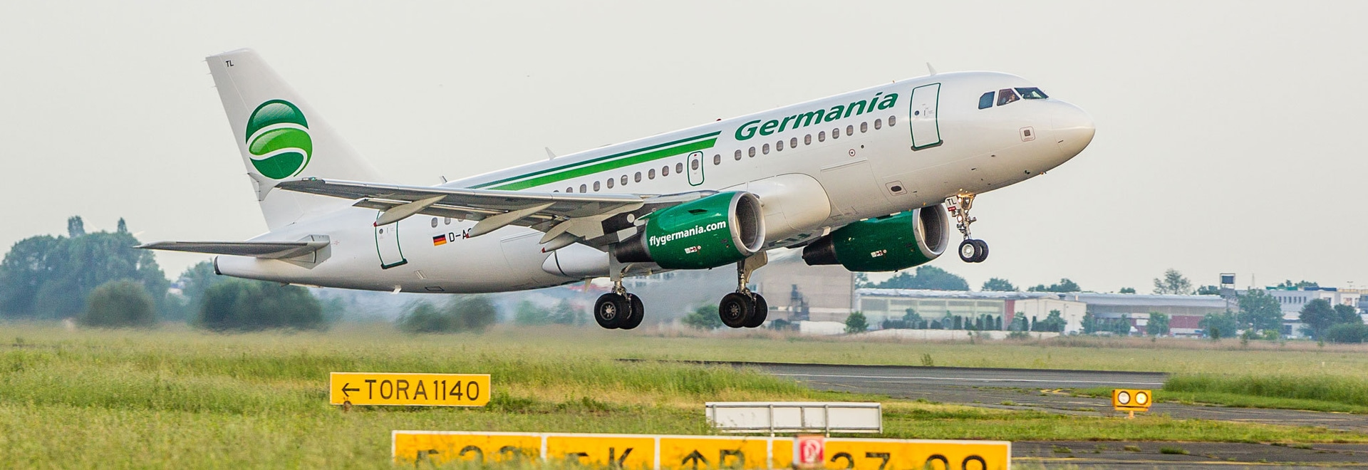 """Berlin-based Germania has stopped all flights and applied for insolvency after failing to cover a """"short-term liquidity problems."""" (Photo: Germania)"""