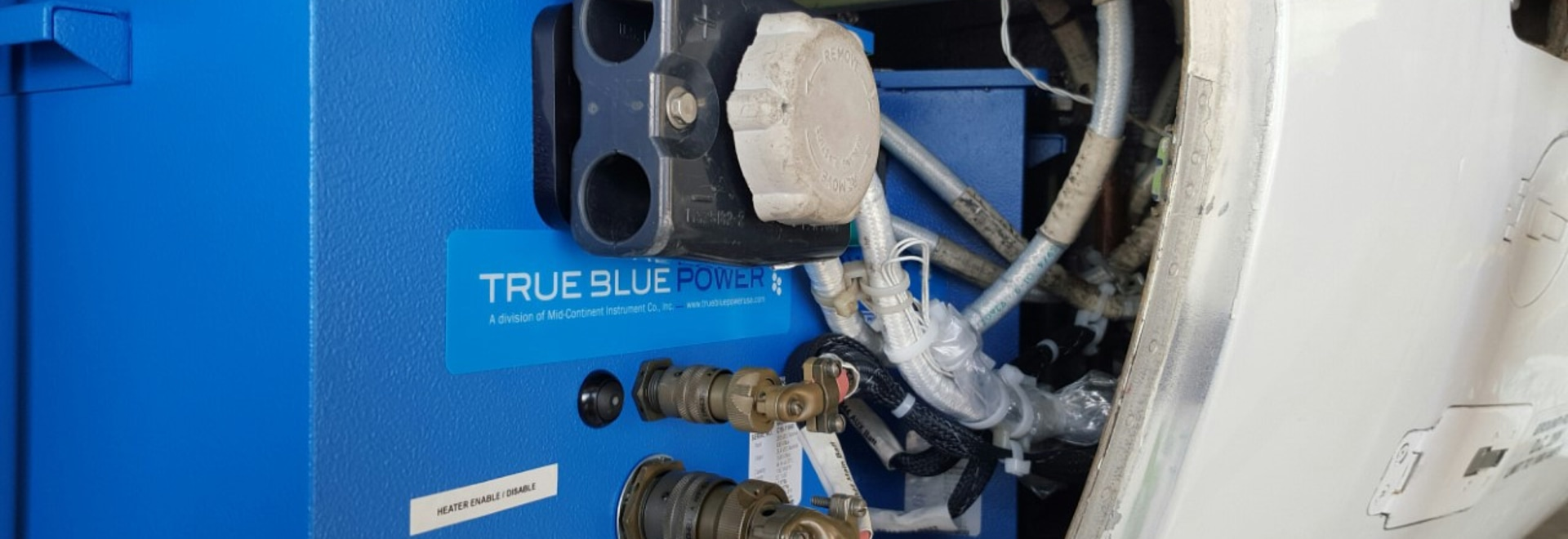 faa certifies true blue power lithium ion main ship batteries on