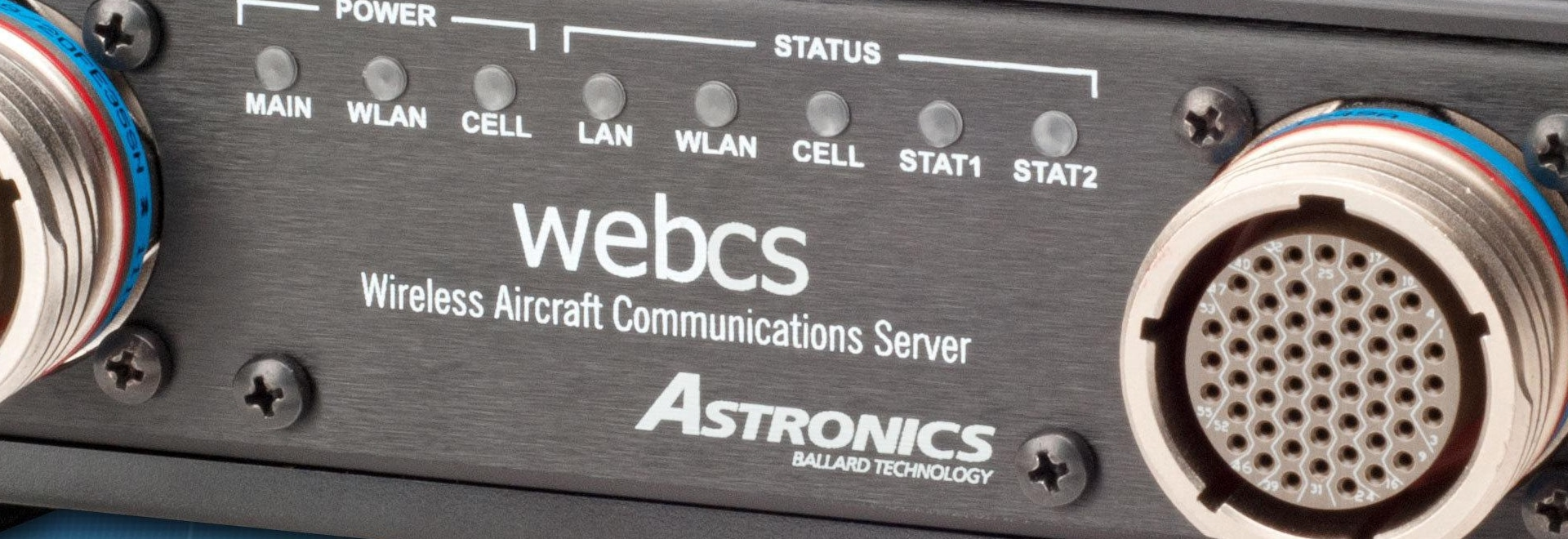 Astronics Ballard Technology webCS securely bridges avionics data ...