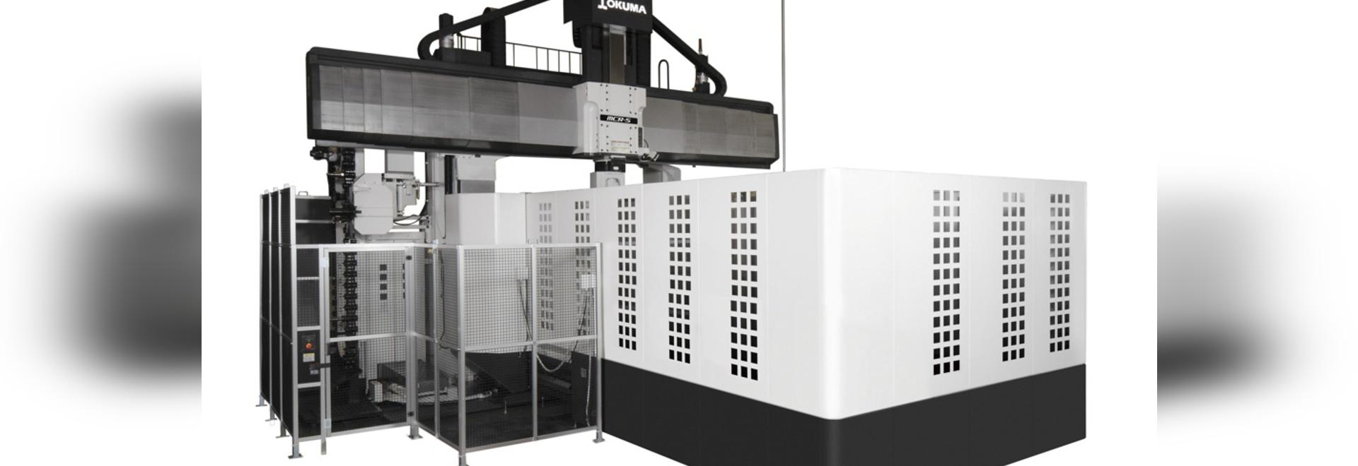Okuma unveils new double column machining centre