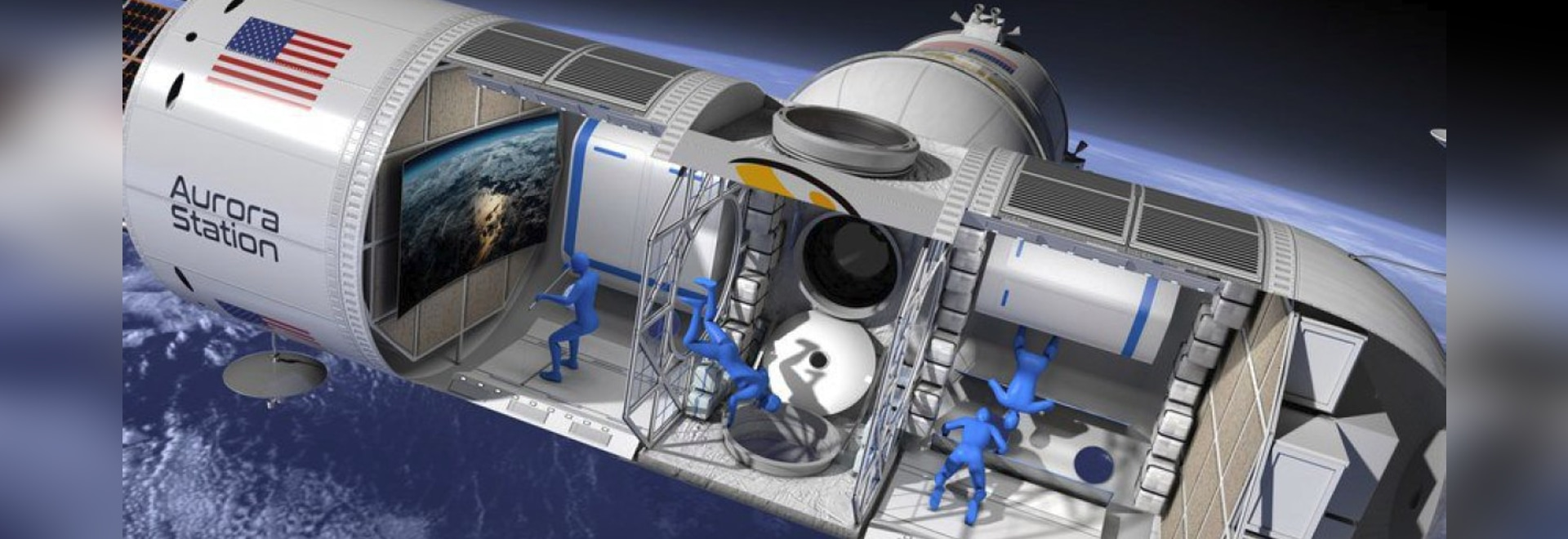 """Orion Span's Aurora Station will launch in late 2021, with the first guests going up to stay in the world's first luxury space hotel in early 2022. """"It will replicate an authentic astronaut experie..."""
