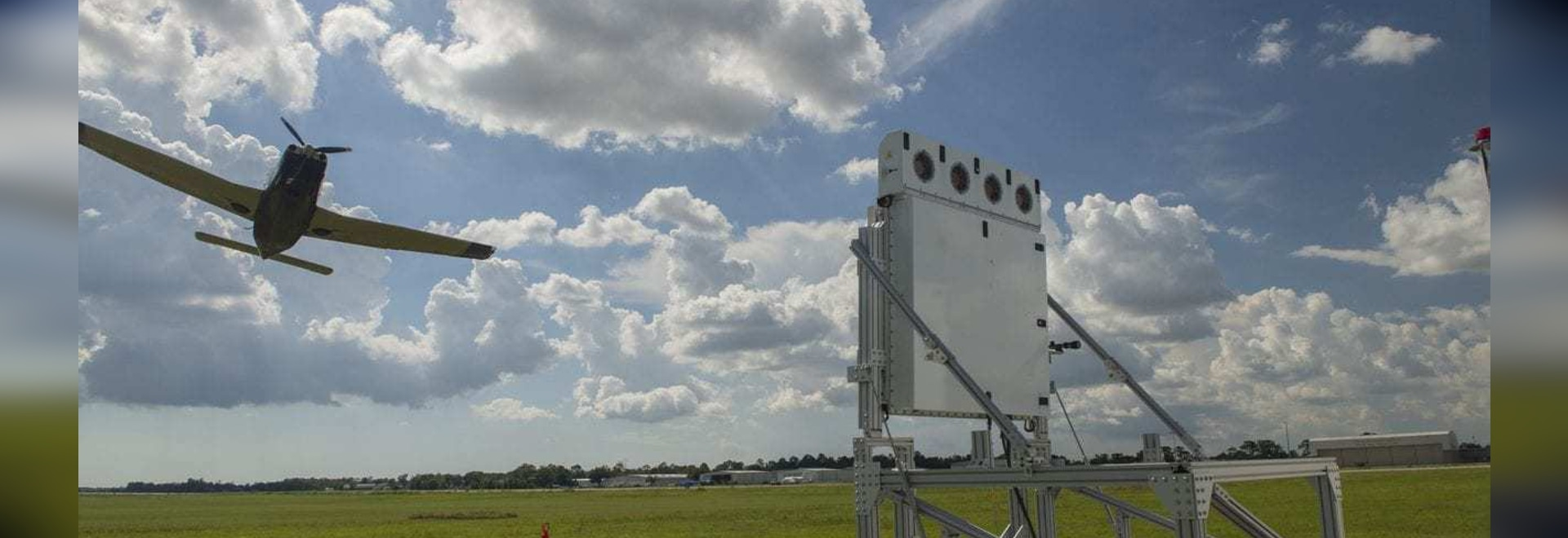 A Raytheon Skyler low-power radar array. (Raytheon)