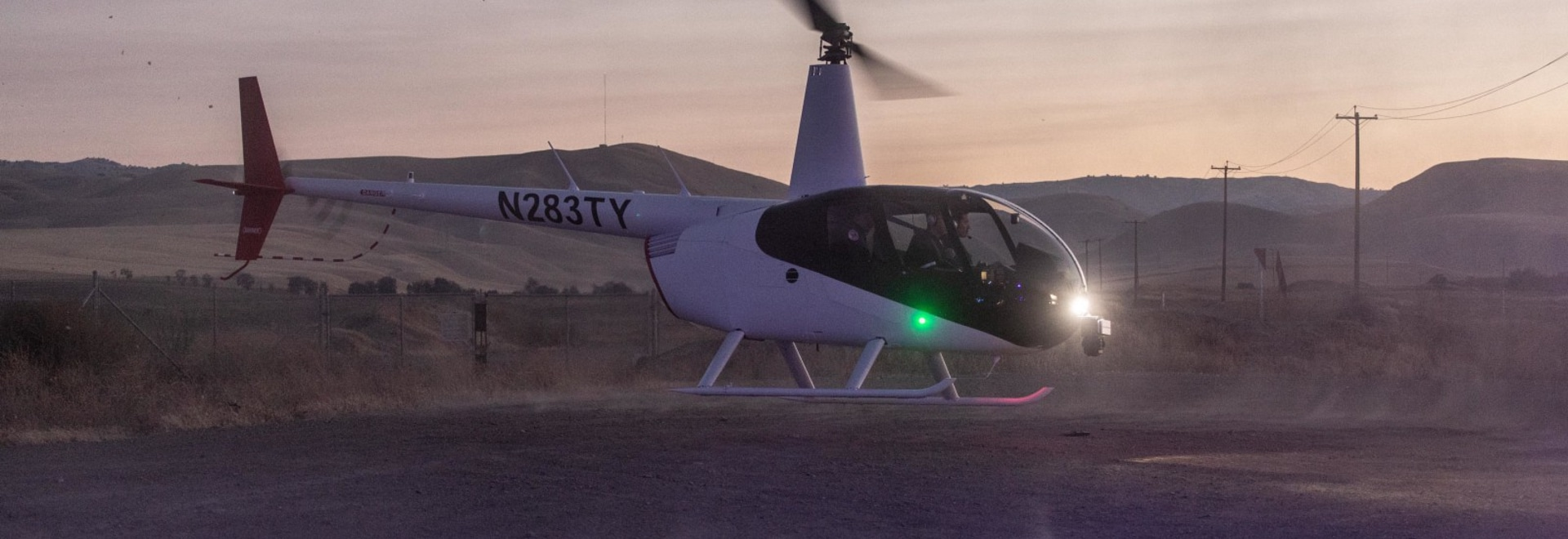 A SkyRyse helicopter using new VTOL technology could help revolutionize urban transportation.