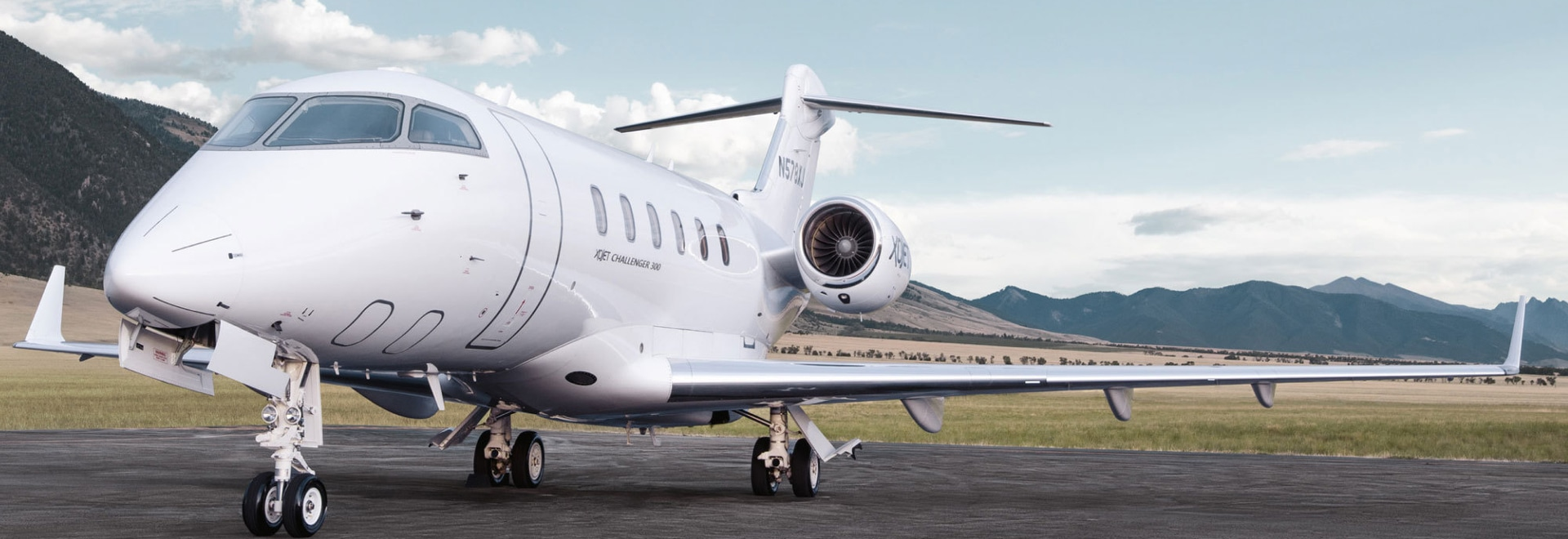 Vista Global is buying XOJet, the third-largest charter firm in the U.S., for an undisclosed amount. XOJet owns a fleet of Bombardier Challenger 300s (shown here) and Cessna Citation Xs. (Photo: XO...