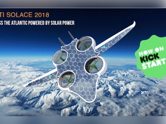 The first solar drone to cross the Atlantic - INTI SOLACE 2018