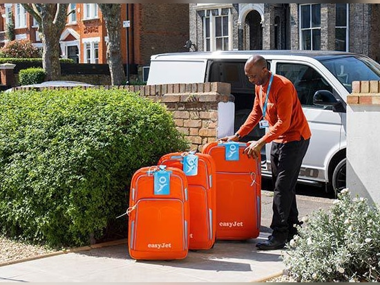 easyJet's new home luggage check-in service set to deliver customer experience, ancillary revenue and operational benefits