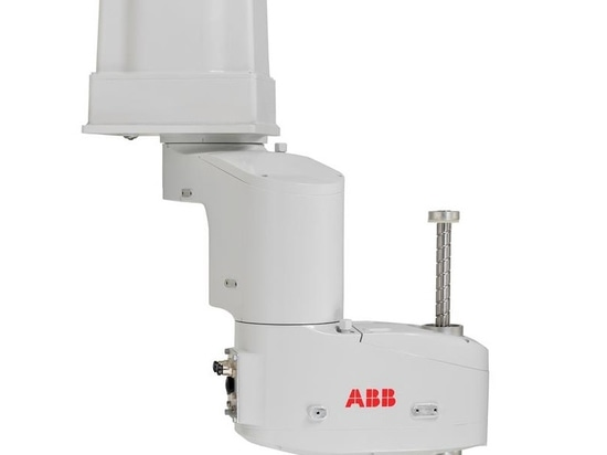 ABB unveils new ceiling-mounted SCARA robot