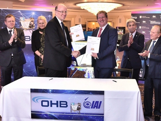 OHB System and IAI partner to provide lunar surface access service