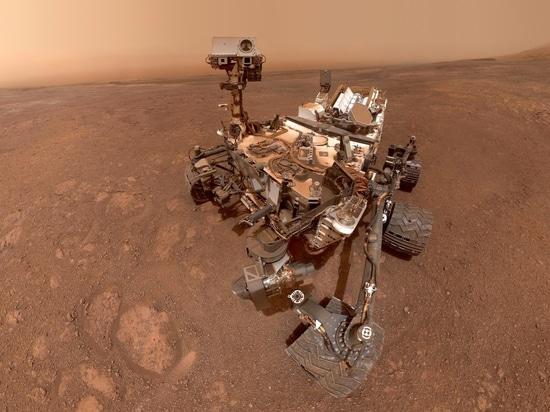 Nasa's Curiosity measures mountain's gravity on Mars