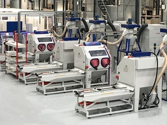 Guyson installs multiple blast cabinets into additive manufacturer