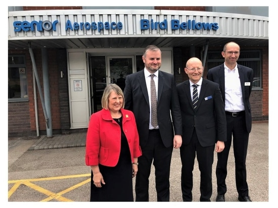 'Factory of the future' for aircraft components opens at SABB