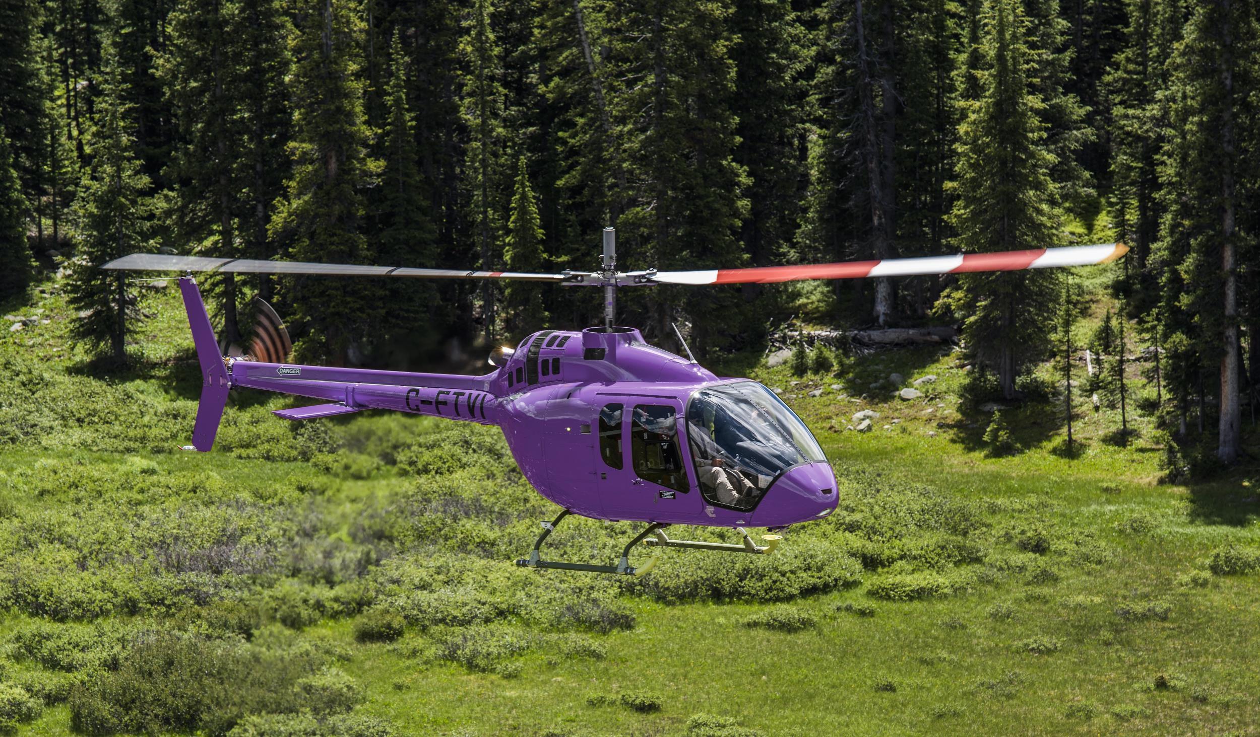 Elicottero Jet Ranger : Elicottero di evacuazione medica da trasporto di sorveglianza