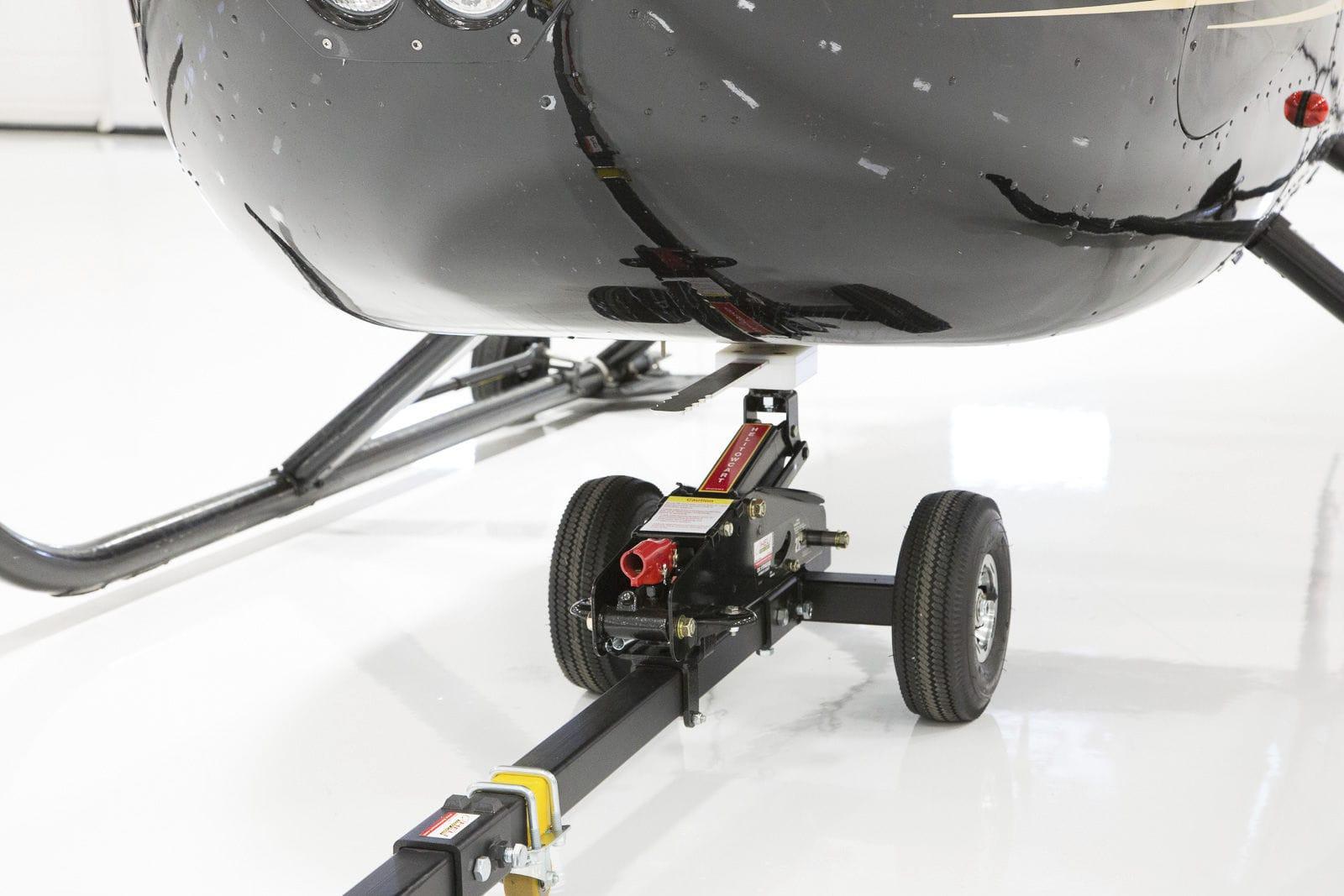 Elicottero R66 : Barra di traino manuale per elicottero per aeroporto htb
