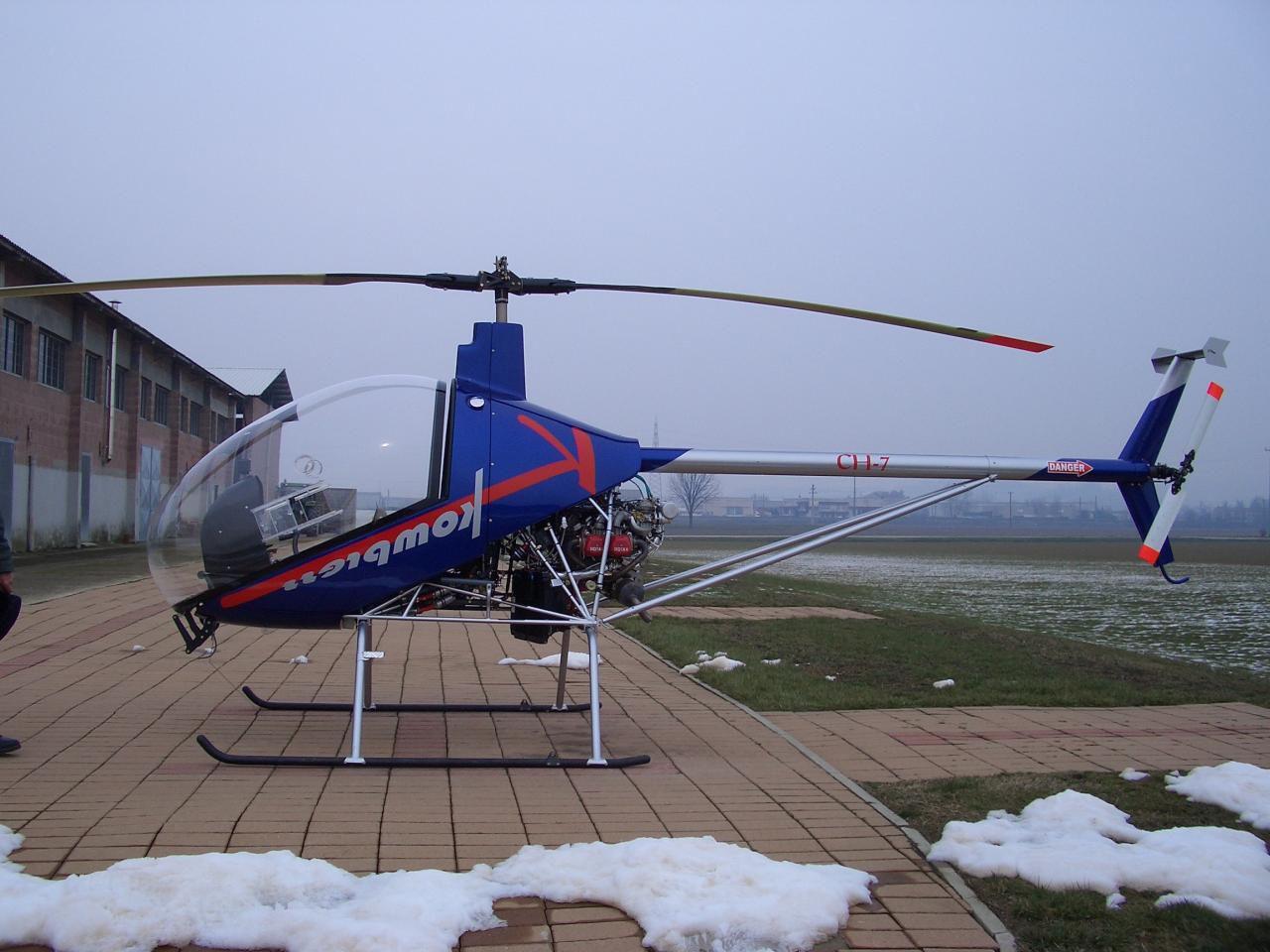 Elicottero Ch : Elicottero ultraleggero multifunzione monoposto con motore a