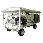 sistema di rifornimento mobile trainato / per aereo