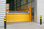 rampa di raccordo con sponda idraulica / verticale