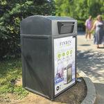 空港用ゴミ箱 / スタンド式 / リサイクル
