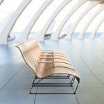 空港ラウンジ椅子