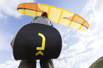 ハンググライダー用自由飛行ハーネス / 1人用 / パフォーマンス用 / リバーシブル