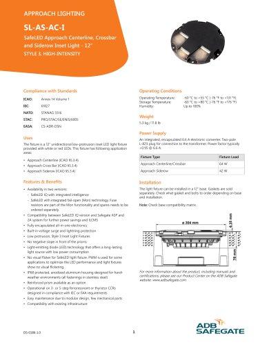 SL-AC-AS-I - ADB AIRFIELD SOLUTIONS - PDF Catalogs
