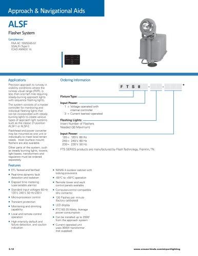 ALSF Flasher System
