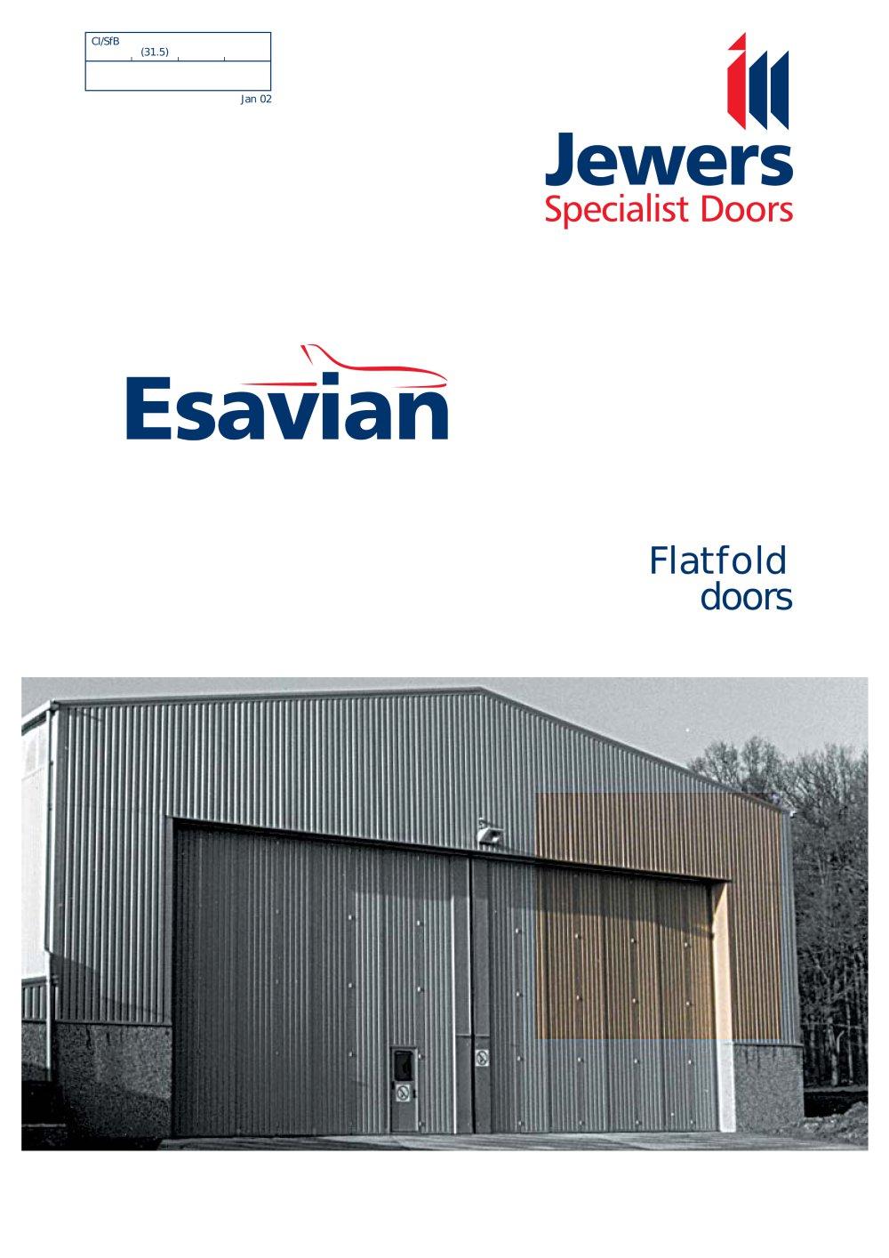 Flatfold bottom-rolling, sliding-folding doors - JEWERS DOORS - PDF ...