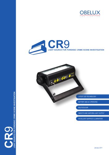 CR9 Forensic Lights