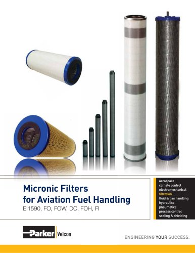 VEL2159 Pre-filter/Microfilters