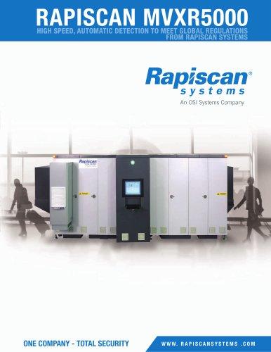 Rapid scan MVXR5000