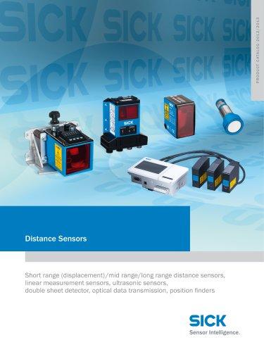 Distance Sensors - SICK SENSOR INTELLIGENCE - PDF Catalogs