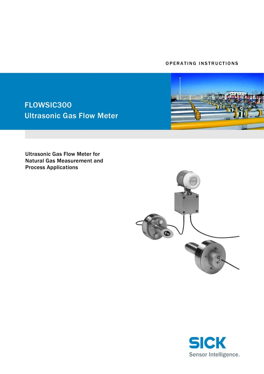 Flowsic300 Ultrasonic Gas Flow Meter Sick Sensor Intelligence Photoelectric Switch Wiring Diagram 1 177 Pages
