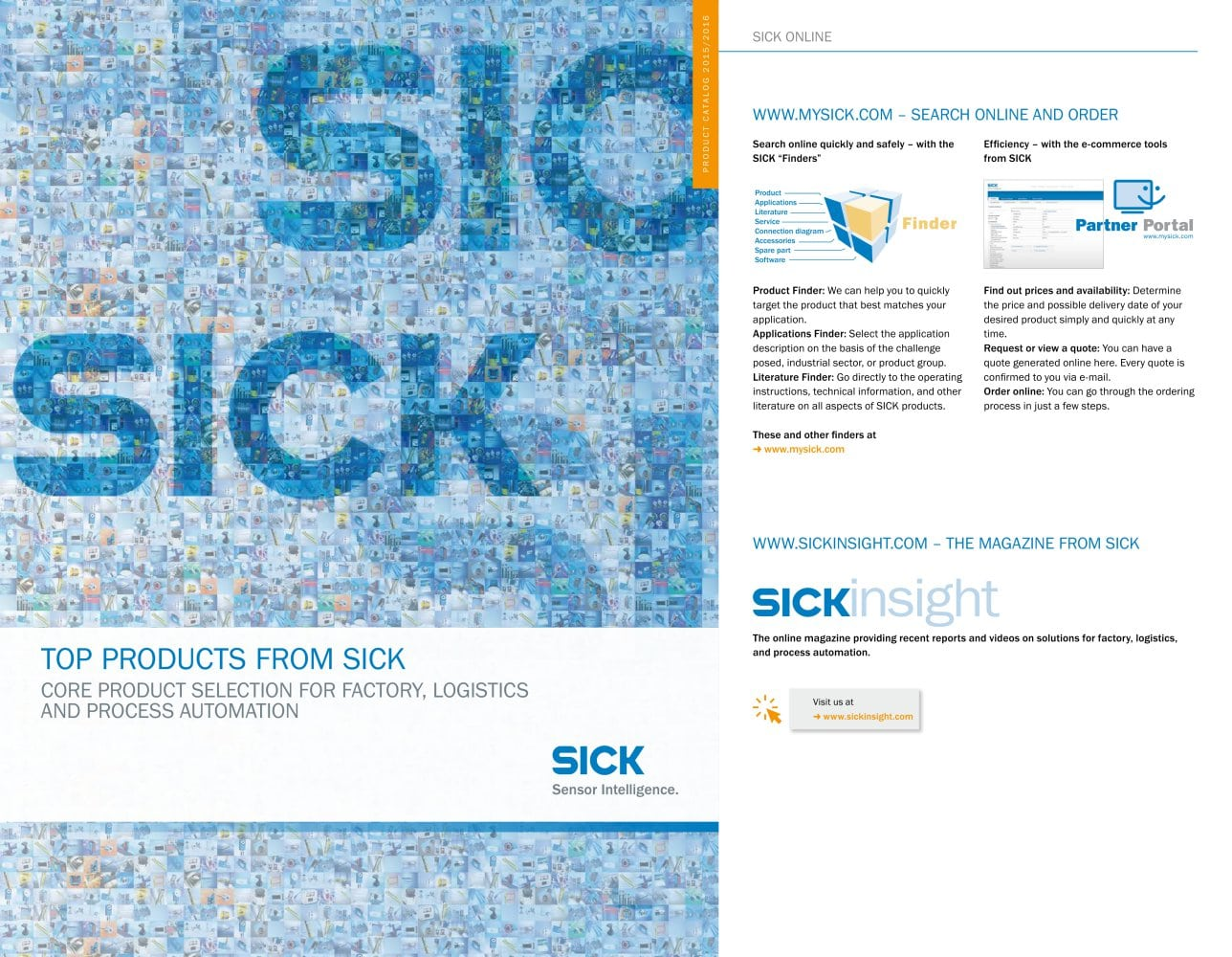 Top-Products from SICK - SICK SENSOR INTELLIGENCE - PDF Catalogue ...