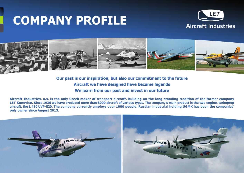 Ok Nga Aircraft Industries Let L 410ng Turbolet