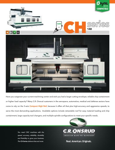 5 AXIS COMPACT HIGH RAIL