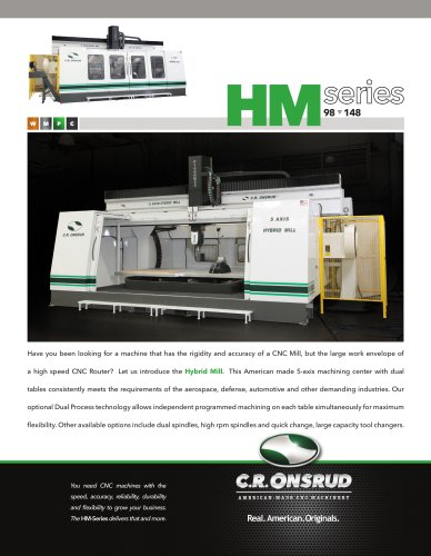 5 AXIS HYBRID MILL