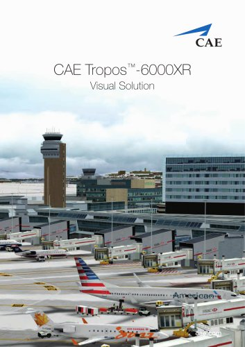 CAE Tropos-6000XR Visual Solution