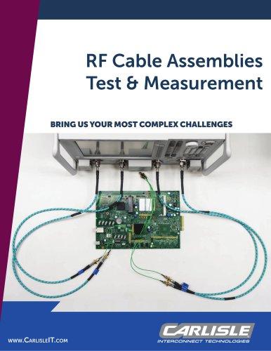RF Cable Assemblies Test & Measurement