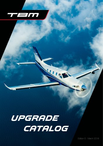 TBM UPGRADE CATALOG 2018