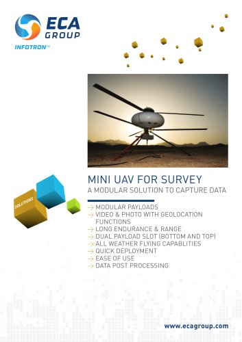 MINI UAV FOR SURVEY