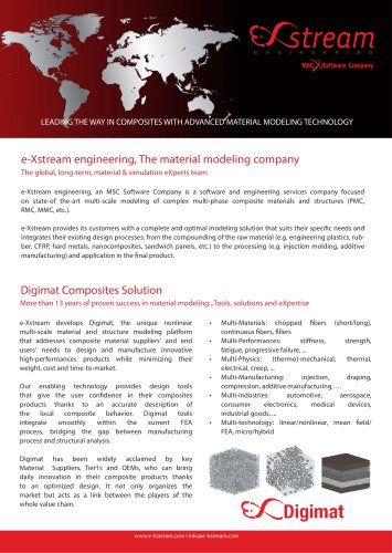 e-Xstream engineering, The material modeling company