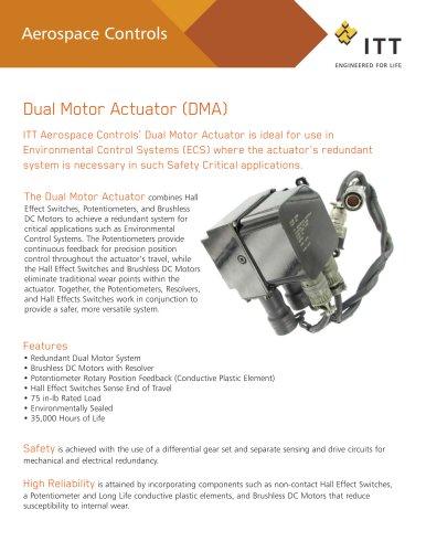 Dual Motor Actuator (DMA) - ITT Aerospace Controls - PDF Catalogs