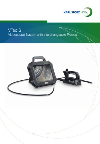 VTec S Videoscope System with Interchangeable Profe