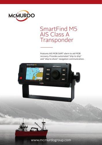 SmartFind M5 AIS Class A Transponder - MC MURDO GROUP - PDF