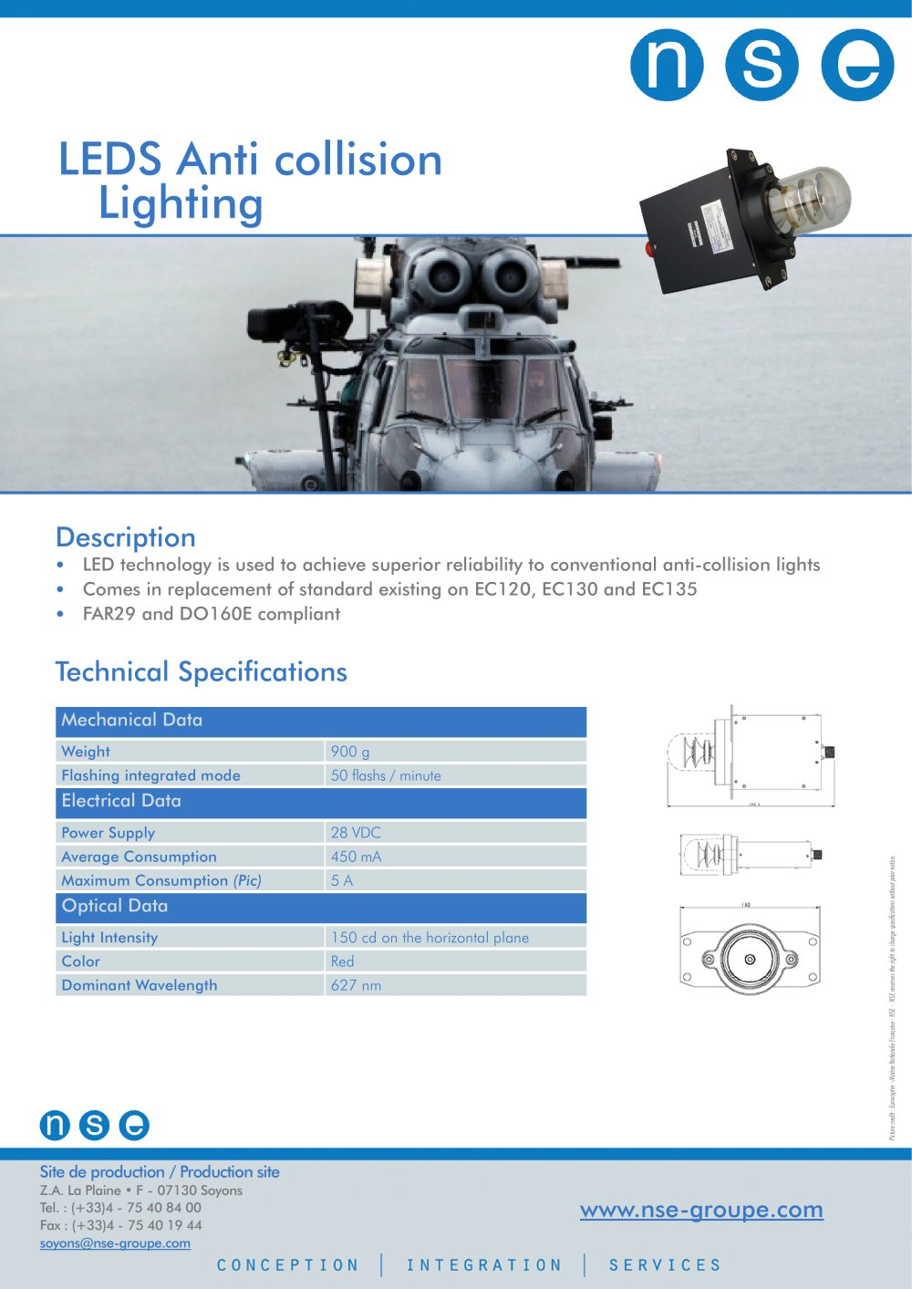 LEDS Anti Collision Lighting   1 / 1 Pages