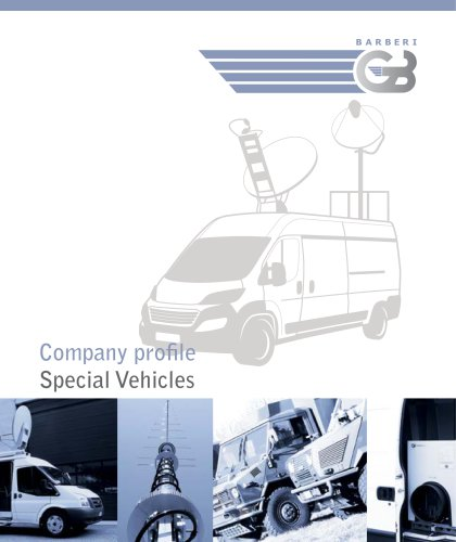 Company Profile – Special Vehicles