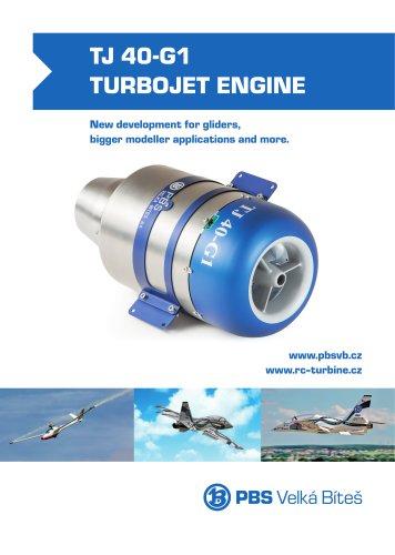 TJ-40-G1-Turbojet-Engine