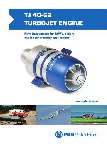 TJ-40-G2-Turbojet-Engine