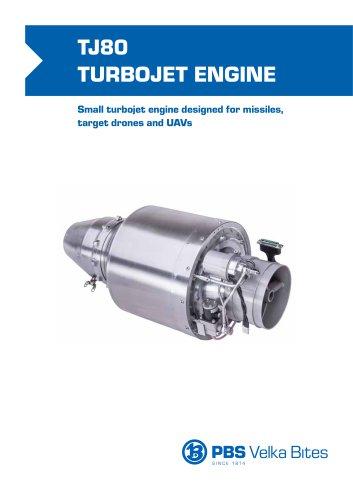 TJ80 TURBOJET ENGINE