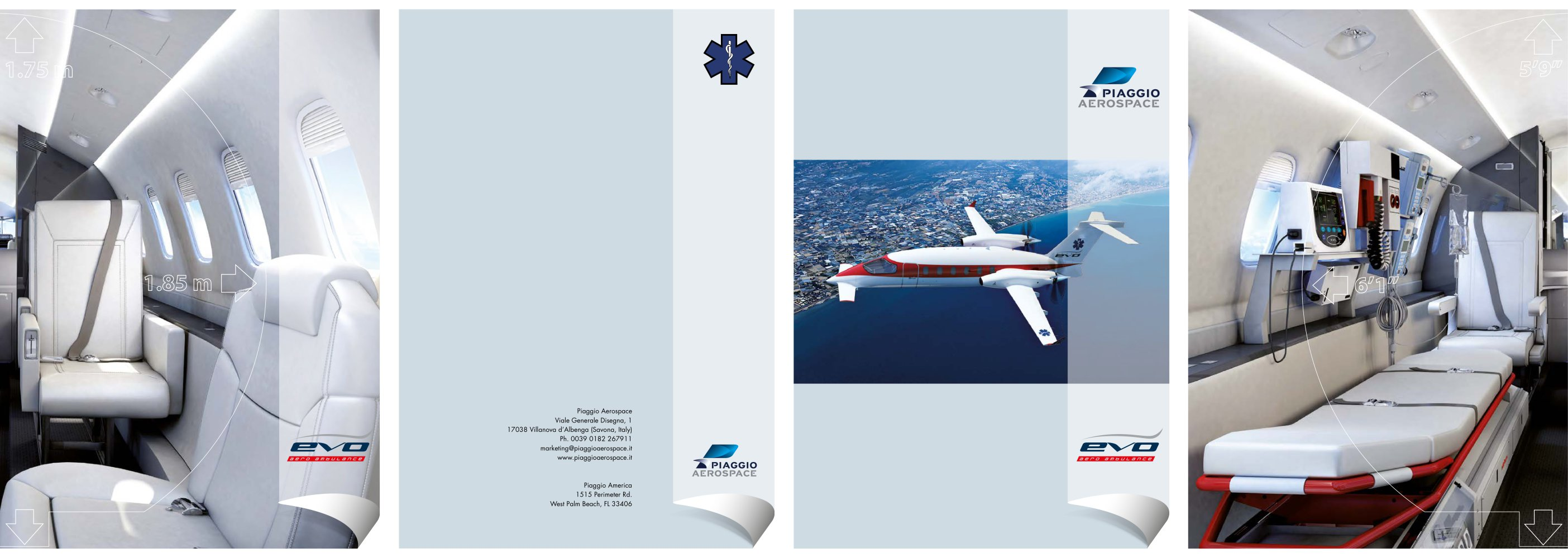 ambulance b - piaggio aerospace - pdf catalogue | technical